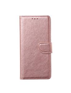Ntech Ntech Samsung Galaxy M21 Book Case - Rose goud