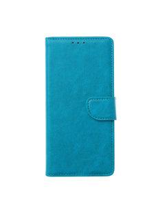 Ntech Ntech Samsung Galaxy M21 Book Case - Turquoise