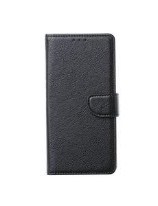 Ntech Ntech Samsung Galaxy M21 Book Case - Zwart