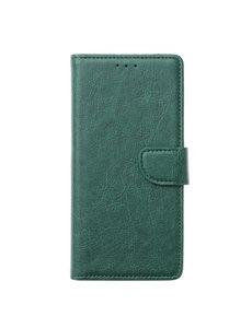 Ntech Ntech Samsung Galaxy M21 Book Case - Groen