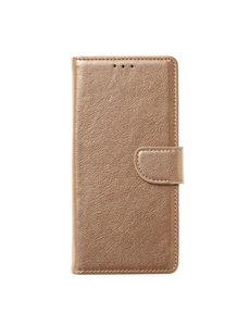 Ntech Ntech Samsung Galaxy M21 Book Case - Goud