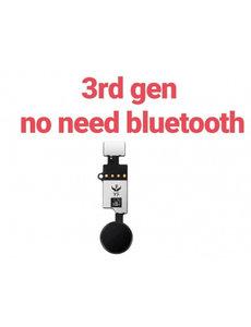 Ntech iphone 7g/7g plus/8g/8g plus - home button flex v5 - zwart