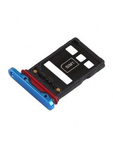 Ntech Huawei P30 pro - simkaart holder - blauw