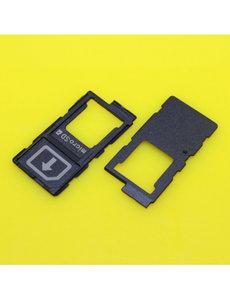 Ntech Sony Xperia Z4 / Z5 / Z5 Premium - Simkaart Holder+ Microsd Card Holder
