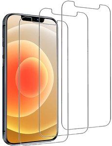 Ntech iPhone 12 / 12 Pro Screenprotector - 3 Stuks - Glazen tempered glass