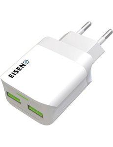 Eisenz Eisenz EZ779 USB C Fast Charger adapter 12W 2.4A oplader + Type-C Kabel