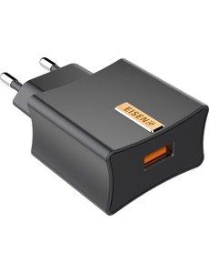 Eisenz Eisenz CC200 USB-C Fast Charger QC3.0 Snel oplader / lader met Type C kabel