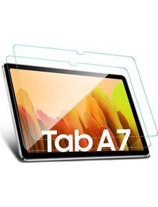 Ntech Screenprotector voor Samsung Galaxy Tab A7 2020 10.4 Inch T500 / T505 - Samsung Galaxy Tab A7 Tempered Glass - 2 pack