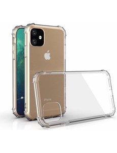 Merkloos iPhone 11 hoes doorzichtbaar - 6.1 inch - Transparant hoes voor iPhone 11 -
