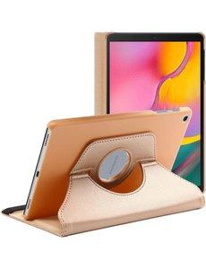 Ntech Samsung Galaxy Tab S6 Lite Hoes - 360° Draaibare case - Goud