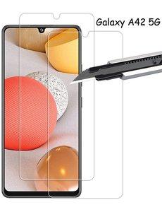 Ntech Samsung Galaxy A42 5G Screenprotector / Samsung Galaxy A42 glazen tempered glass - 2 pack