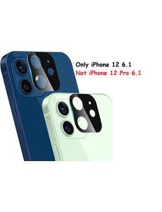 Ntech IPhone 12 Lens Protector / tempered glass - Zwart