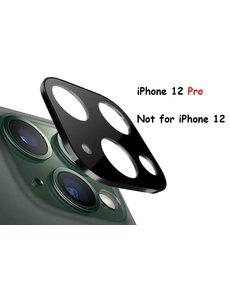 Ntech iPhone 12 Pro Lens Protector / Lens tempered glass - Zwart