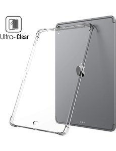 Ntech iPad Air 4 10.9 hoesje - siliconen transparent cover / iPad Air 4 (2020) Anti-Shocksiliconen Backcover Clear