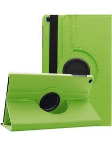 Ntech Samsung Galaxy Tab A7 Hoes 10.4 (2020) cover - Samsung Galaxy Tab A7 360 draaibare case - Groen