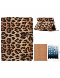 Ntech iPad Air 2020 Hoes - Bookcase met standaard - Luipaard Print