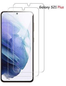 Ntech Samsung Galaxy S21 Plus Screenprotector Tempered Glass - 2 Stuks
