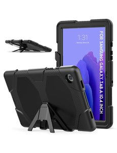 Ntech Extreme protectie Army Backcover hoes voor Samsung Galaxy Tab A7 Hoes case 10.4 (2020) T500 - Zwart
