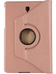 merkloos Samsung Galaxy Tab A7 (2020) 10.4 inch 360 graden draaibare hoes (rosé goud)