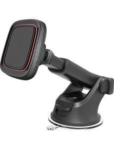 Merkloos Magnetische telefoonhouder voor in de auto - Autohouder - Auto telefoonhouder - Magneet smartphone houder - Dashboard Raam zuignap - Samsung - iPhone - Nokia - Huawei - Sony - LG - HTC - OnePlus - Xiaomi - Universeel - Magnetisch