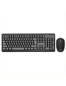 xssive Xssive Toetsenbord set - Toetsenbord set - muis + toetsenbord set - draadloos keyboard set - qwerty set -