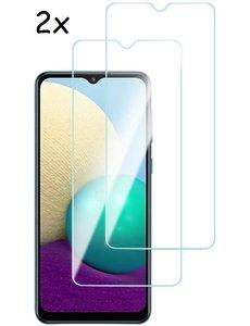 Ntech Screenprotector Samsung A02 Screenprotector - Galaxy A02 Tempered Glass - 2 Stuks