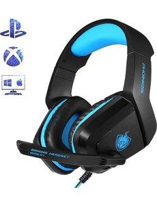 Phoinikas Phoinikas Gaming Headset - Multi Platform - Zwart/Blauw