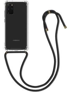 Merkloos Samsung Galaxy A51 shock hoesje met koord