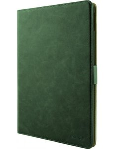 xssive Premium Leren Bookcase Hoes iPad 7 (2019) / iPad 8 (2020) - 10.2 inch - Groen