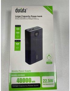 Durata Durata Large capacity powerbank 40000MAH