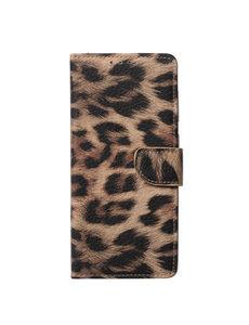 Ntech Samsung  A42 Hoesje Luipaard - Galaxy A42 Boek Hoesje / Portemonnee cover - Luipaard hoesje Samsung A42