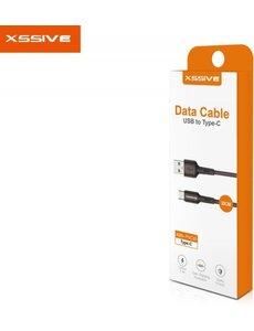 xssive Xssive Usb Cable TYPE C - 30cm ZWART