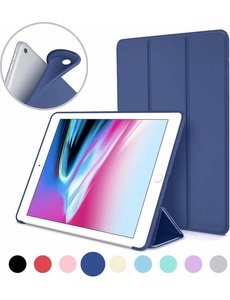 Merkloos iPad 2019 10.2 Smart Cover Case Blauw