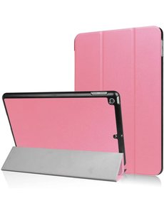 Ntech iPad Hoes 2017 - iPad 2018 Hoes Licht Rose 9.7 Inch - iPad 2018 Hoes 9.7 - iPad 2017 Hoes smart cover Trifold  - Ntech