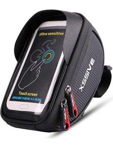 xssive Xssive fietsstuurtasje smartphone model XSS-B2 BICYCLE BAG FIETS TASJE FIETSTAS TAS VOOR STUUR FIETS