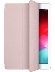 merkloos iPad hoes 2017 / iPad hoes 2018 iPad hoes (9.7 inch) - Tri-Fold Book Case - (zalm)roze - magnetisch - automatisch aan/uit - iPad cover 9.7 inch - ipad 2017 hoes - ipad 2018 hoes