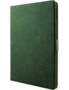 xssive Premium Leren Bookcase Hoes iPad 2017 (5e Generatie) / iPad 2018 (6e Generatie) - 9.7 inch - Groen