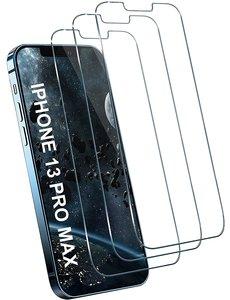 Ntech iPhone 13 Pro Max screenprotector - tempered glass - Screenprotector iPhone 13 Pro max - 3 Pack