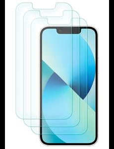 Ntech iPhone 13 Mini Screenprotector - iPhone 13 Mini Screenprotector - Tempered glass 3 pack