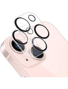 Ntech iPhone 13 / 13 Mini camera lens protector - beschermglas iphone 13 / 13 Mini lens protector Zwart - 2 pack