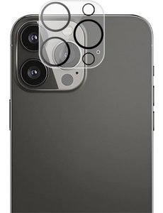 merkloos Apple iPhone 13 Pro Max Camera Lens Protector Tempered Glass