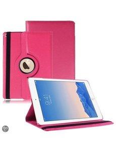 Merkloos Apple iPad Air 2 Case, 360 graden draaibare Hoes, Cover - Pink / Roze
