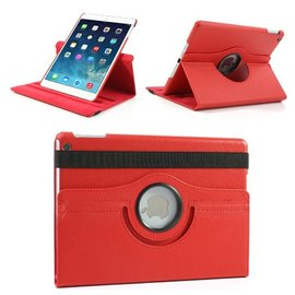 Merkloos iPad Air 360 Graden Case Rood