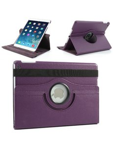 Merkloos iPad Air 360 Graden Case Paars