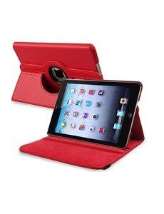 Merkloos iPad Mini / Mini 2 draaibare Case Rood
