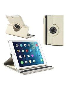 Merkloos iPad Mini / Mini 2 Case 360 graden draaibare hoesje Wit