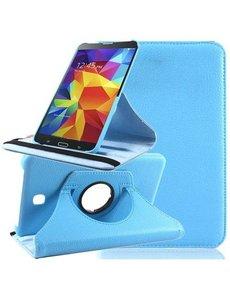 Merkloos Tablet hoesje 360 Draaibaar Samsung Galaxy Tab 4 7.0 inch Baby Blauw