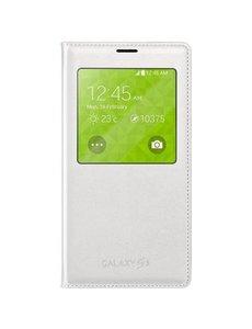 Samsung Samsung S-View Flip Cover Wit voor de Samsung Galaxy S5
