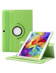 Merkloos Samsung Galaxy Tab S 10.5 inch T800 / T805 Tablet hoesje met 360° Draaibaar Groen