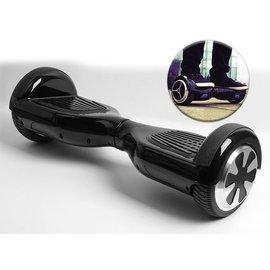 Merkloos Hoverbard 6,5 inch  in Zwart kleur